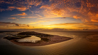 Point Sunrise from Drone-0009-Pano-Edit
